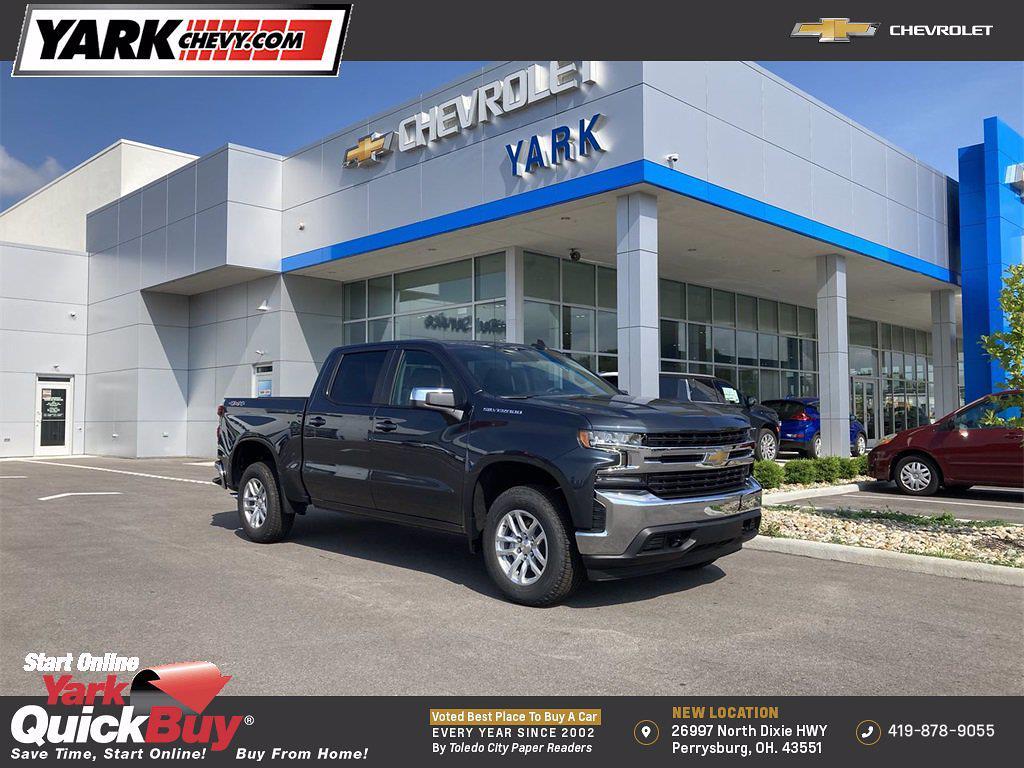 2021 Chevrolet Silverado 1500 4x4, Pickup #W210613 - photo 1