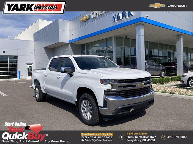 2021 Chevrolet Silverado 1500 4x4, Pickup #365564 - photo 1