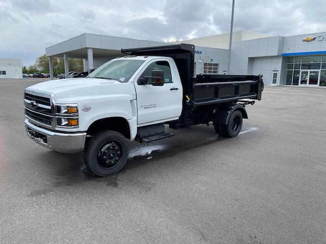 2019 Chevrolet Silverado 6500 Regular Cab DRW 4x4, 11 Ft Air Flow dump Body #W190628 - photo 1