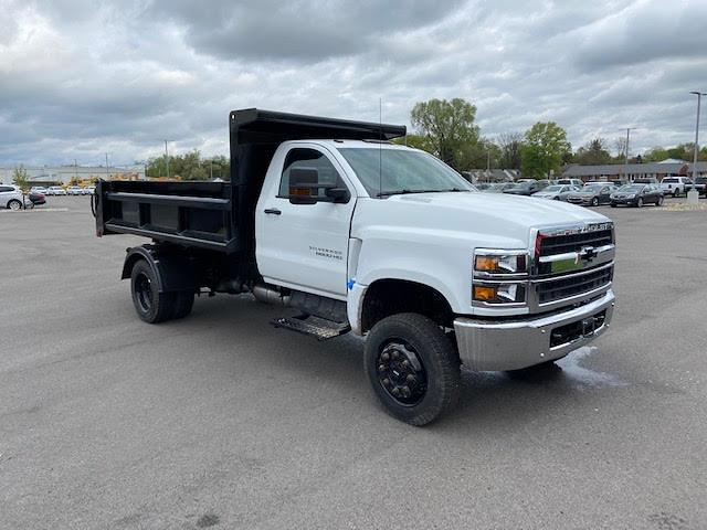 2019 Chevrolet Silverado 6500 Regular Cab DRW 4x4, 11 Ft Air Flow dump Body #W190628 - photo 3