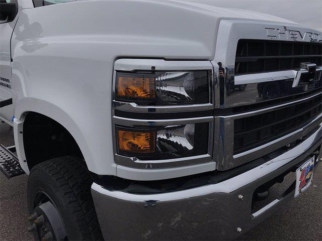2019 Chevrolet Silverado 6500 Regular Cab DRW 4x4, 11 Ft Air Flow dump Body #W190628 - photo 7