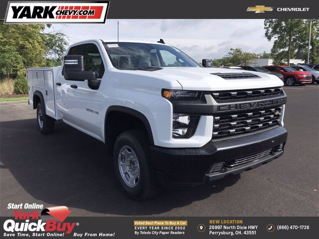 2020 Chevrolet Silverado 2500 Double Cab 4x2, Monroe Service Body #W200567 - photo 1