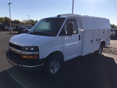 2020 Chevrolet Express 3500 4x2, Knapheide KUV Service Utility Van #W200623 - photo 4