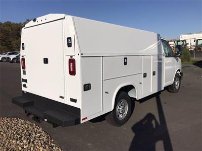 2020 Chevrolet Express 3500 4x2, Knapheide KUV Service Utility Van #W200623 - photo 2