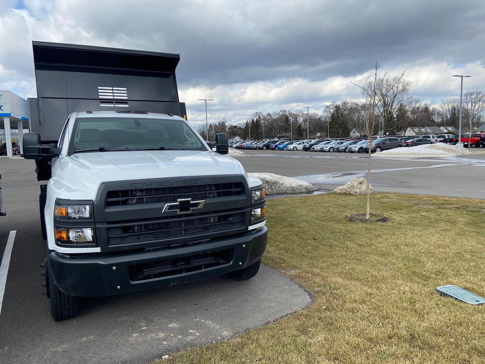2020 Chevrolet Silverado 4500 Regular Cab DRW 4x2, Pro Class 9' Drop Side #W200644 - photo 1