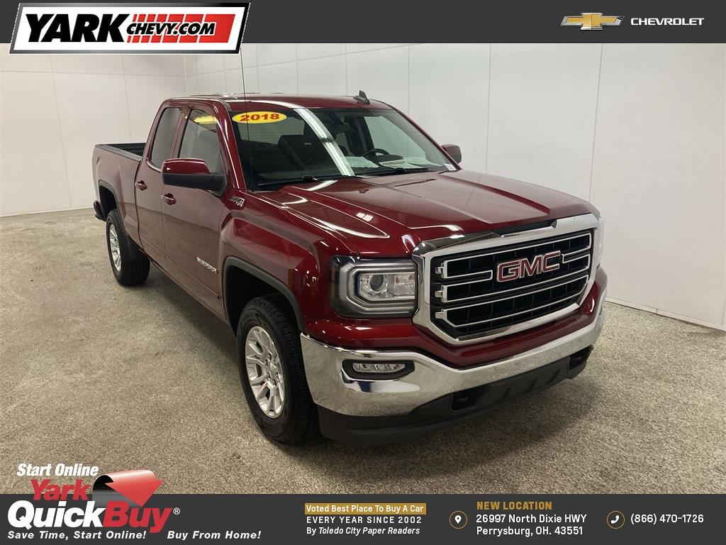 2018 GMC Sierra 1500 Double Cab 4x4, Pickup #W210112A - photo 1