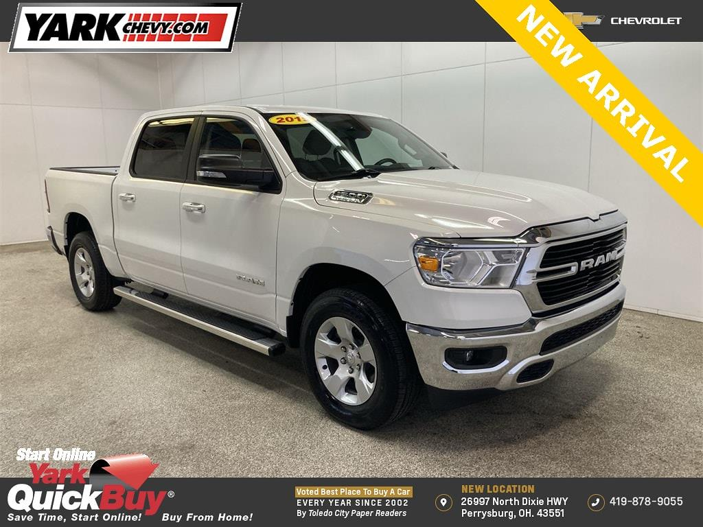 2019 Ram 1500 Crew Cab 4x4, Pickup #W210233A - photo 1