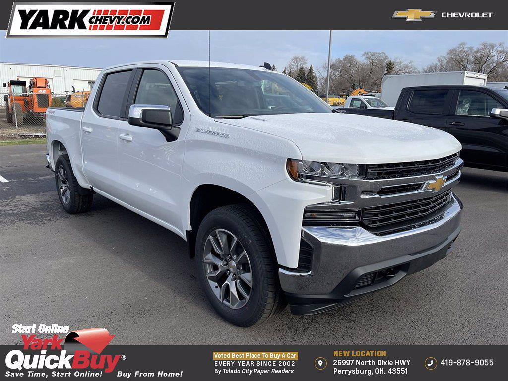 2021 Chevrolet Silverado 1500 Crew Cab 4x4, Pickup #W210313 - photo 1