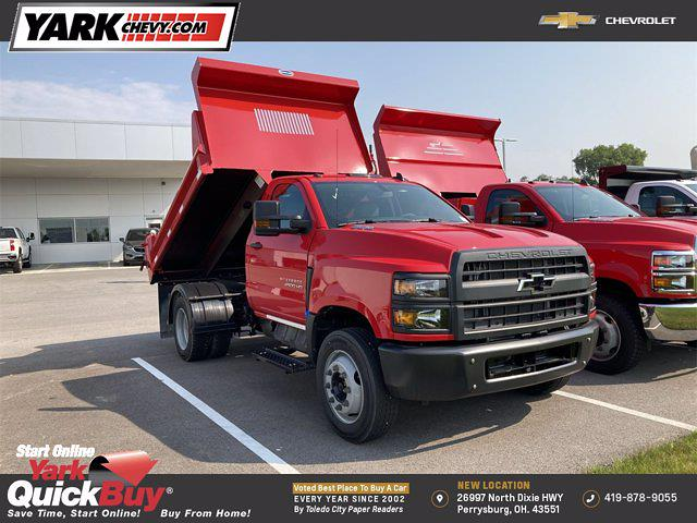 2021 Chevrolet Silverado 4500 Regular Cab DRW 4x2, 9 ft Duraclass Steel dump body #W210334 - photo 19