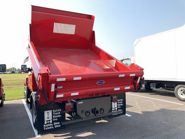 2021 Silverado 4500 Regular Cab DRW 4x2, 9 ft Duraclass Steel dump body #W210334 - photo 22