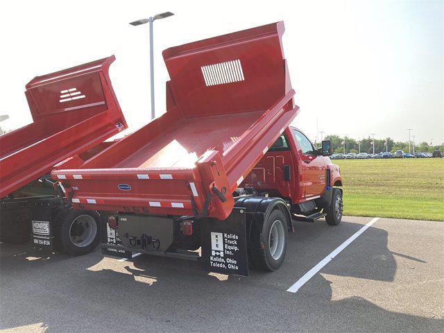 2021 Silverado 4500 Regular Cab DRW 4x2, 9 ft Duraclass Steel dump body #W210334 - photo 4
