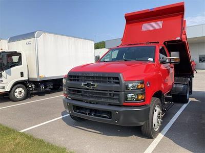 2021 Silverado 4500 Regular Cab DRW 4x2, 9 ft Duraclass Steel dump body #W210334 - photo 20