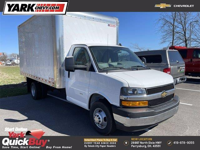 2021 Chevrolet Express 3500 4x2, Morgan Dry Freight #W210454 - photo 1