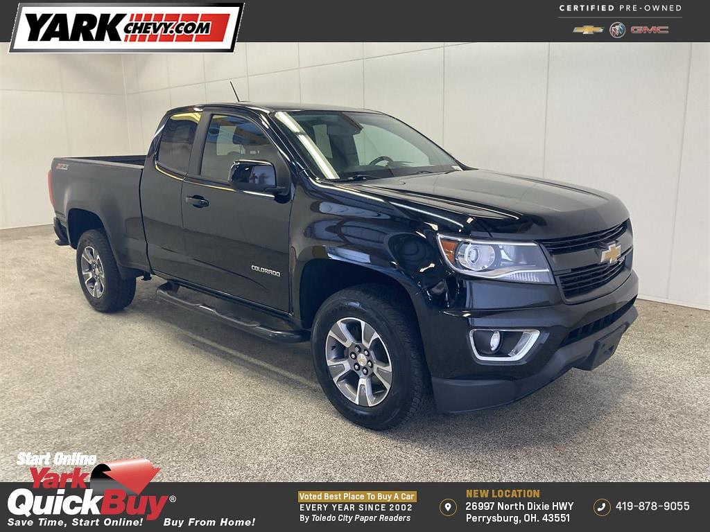 2018 Chevrolet Colorado Extended Cab 4x4, Pickup #W210460A - photo 1