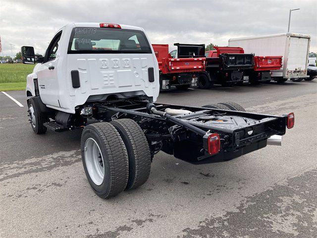 2021 Chevrolet Silverado 4500 Regular Cab DRW 4x2, ABCO Services Dump Body #W210602 - photo 1