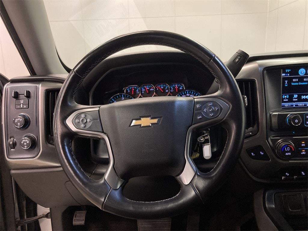 2017 Chevrolet Silverado 1500 Crew Cab 4x4, Pickup #W210621A - photo 25