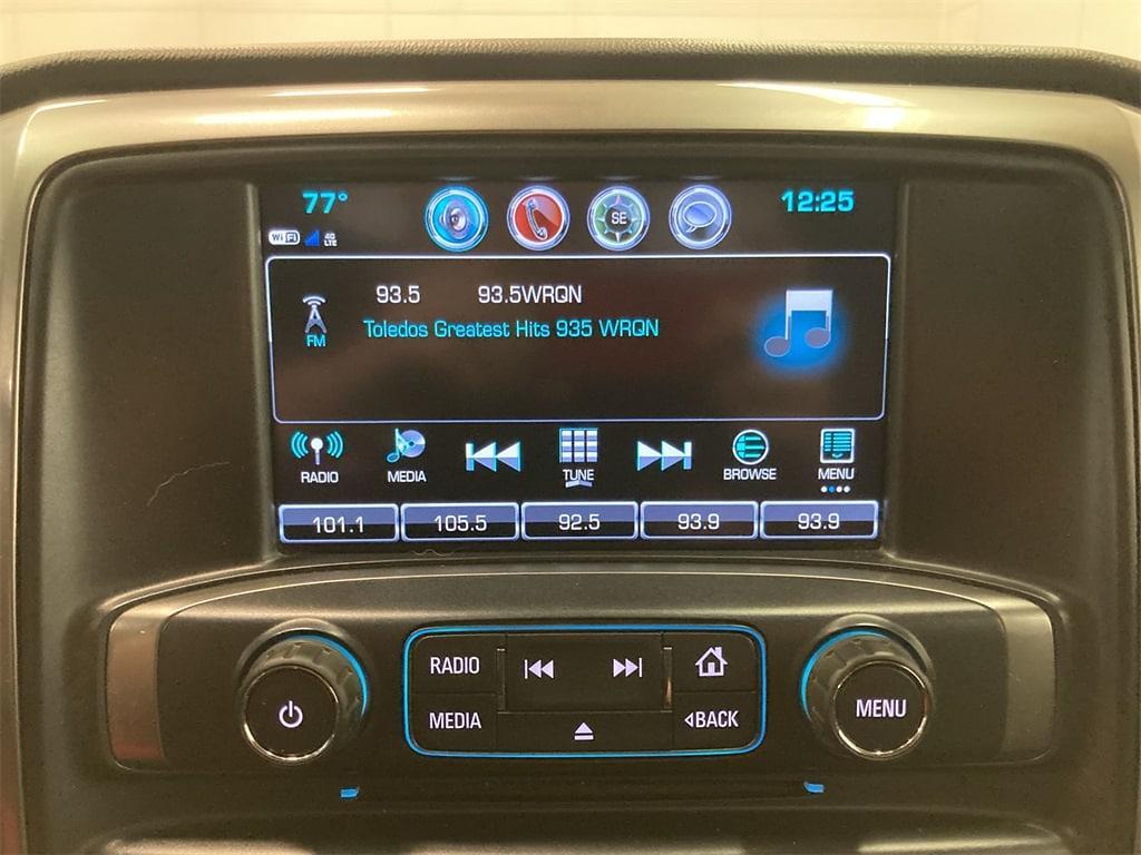 2017 Chevrolet Silverado 1500 Crew Cab 4x4, Pickup #W210621A - photo 26