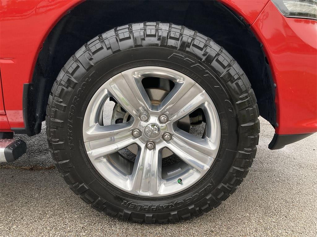 2017 Ram 1500 Quad Cab 4x4,  Pickup #W210626B - photo 11
