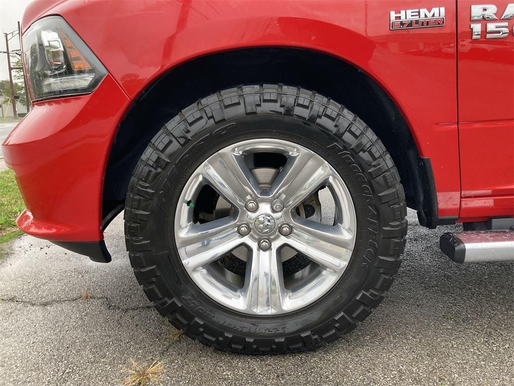 2017 Ram 1500 Quad Cab 4x4,  Pickup #W210626B - photo 37