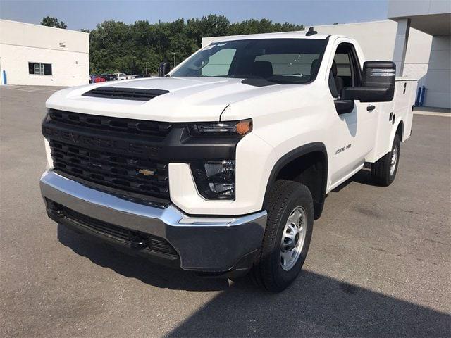 2021 Chevrolet Silverado 2500 Regular Cab 4x4, Monroe Service Body #W210668 - photo 1