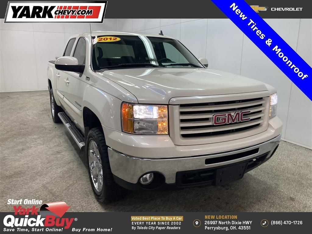 2012 GMC Sierra 1500 Crew Cab 4x4, Pickup #WP4651A - photo 1