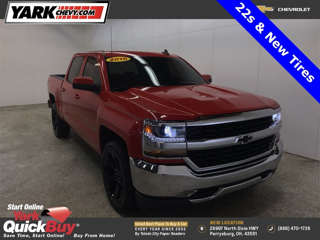 2016 Chevrolet Silverado 1500 Crew Cab 4x4, Pickup #WP4705 - photo 1