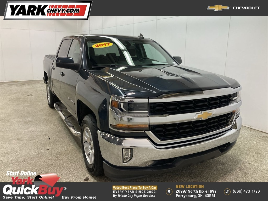 2017 Chevrolet Silverado 1500 Crew Cab 4x4, Pickup #WP4754 - photo 1