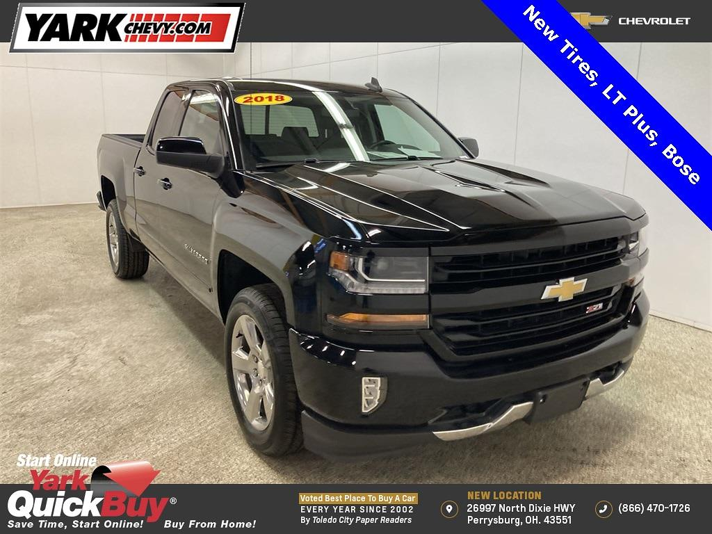 2018 Chevrolet Silverado 1500 Double Cab 4x4, Pickup #WP4860 - photo 1
