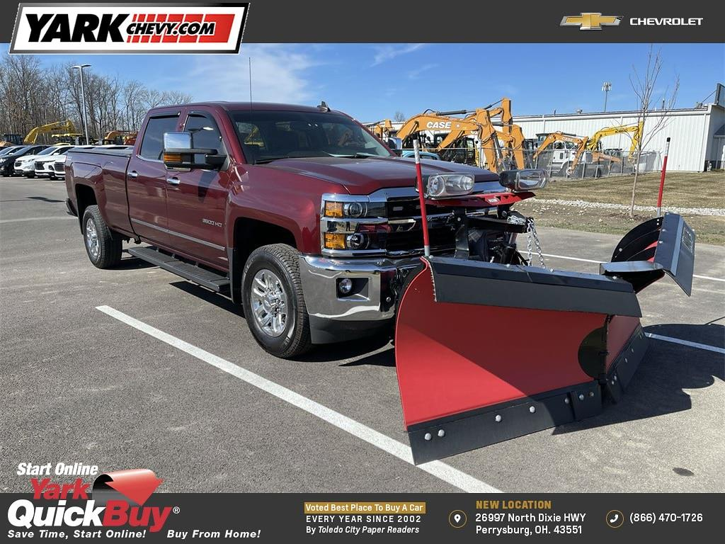 2016 Chevrolet Silverado 3500 Crew Cab 4x4, Pickup #WP4888 - photo 1
