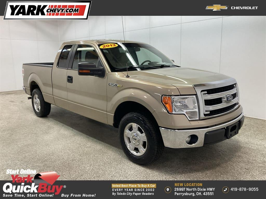 2013 Ford F-150 Super Cab 4x2, Pickup #WP4948A - photo 1