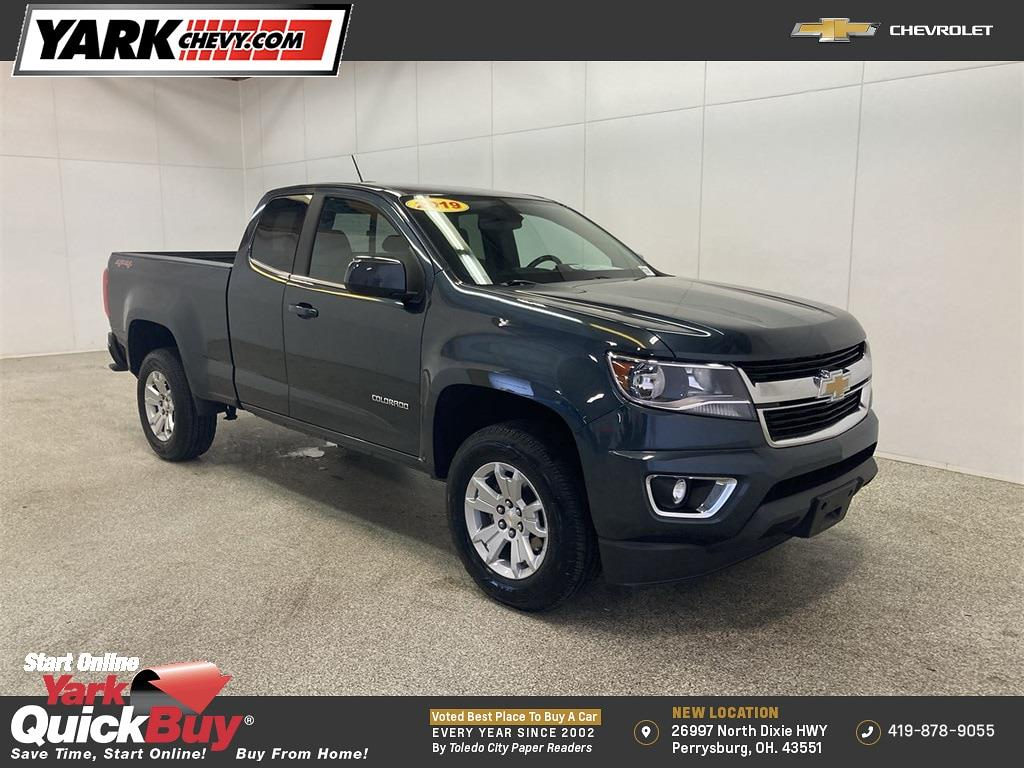 2019 Chevrolet Colorado Extended Cab 4x4, Pickup #WP5054 - photo 1