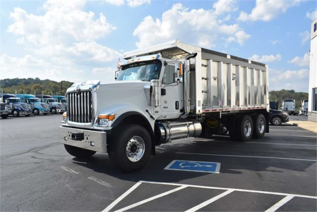 2019 International HX 6x4, MAC Trailer Dump Body #EN-19061 - photo 1