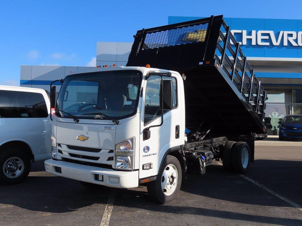2020 LCF 5500XD Regular Cab DRW 4x2, 12' Platform Stake Side Dump Bed #12204310 - photo 1