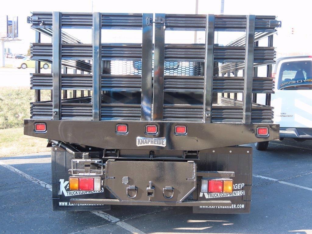 2020 LCF 5500XD Regular Cab DRW 4x2, 12' Platform Stake Side Dump Bed #12204310 - photo 5