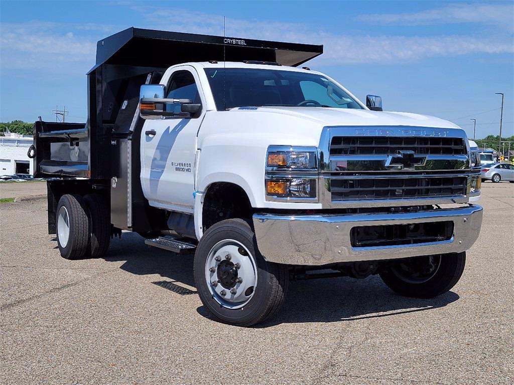 2021 Silverado 5500 Regular Cab DRW 4x4, Dump Truck #12212610 - photo 1