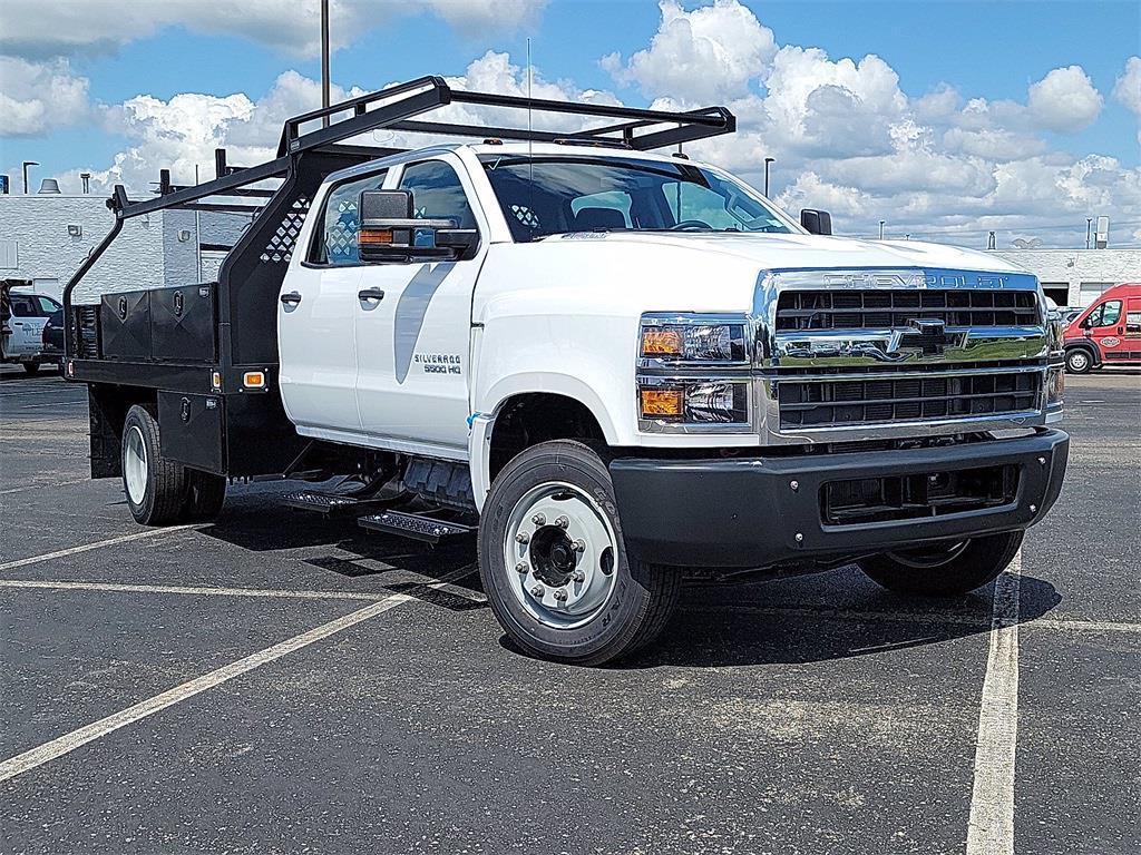 2021 Silverado 5500 Crew Cab DRW 4x2, 12' Platform Rack It Contractor Pkg #12212630 - photo 11
