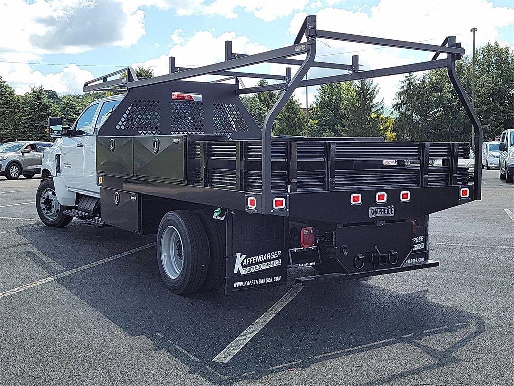 2021 Silverado 5500 Crew Cab DRW 4x2, 12' Platform Rack It Contractor Pkg #12212630 - photo 17
