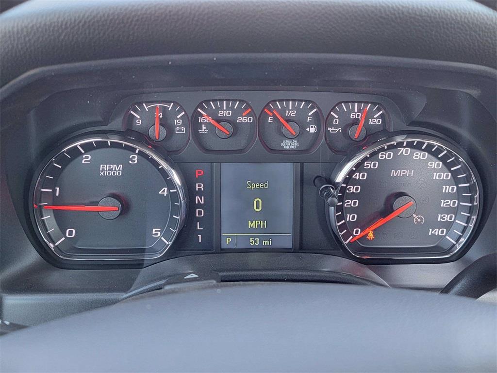 2021 Silverado 5500 Regular Cab DRW 4x2, 12' Flatbed/ Gooseneck Body #12212660 - photo 11