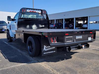 2021 Silverado 5500 Regular Cab DRW 4x2, 12' Flatbed/ Gooseneck Body #12212660 - photo 2