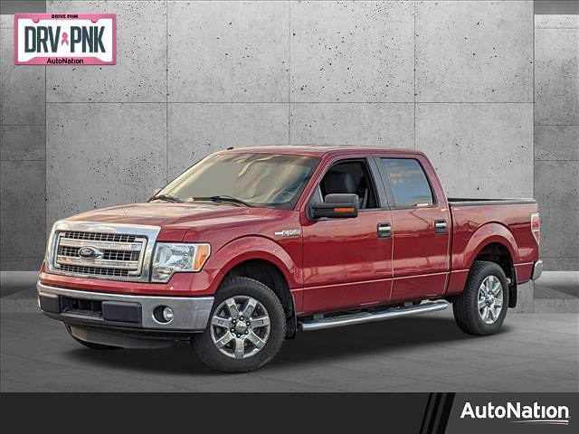 2014 Ford F-150 SuperCrew Cab 4x2, Pickup #EKD89266 - photo 1