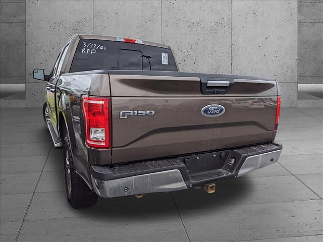 2015 Ford F-150 SuperCrew Cab 4x4, Pickup #FFB92324 - photo 1