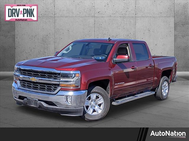 2017 Chevrolet Silverado 1500 Crew Cab 4x2, Pickup #HG163898 - photo 1
