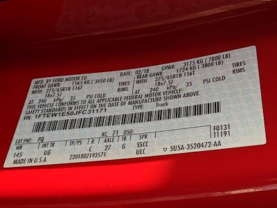 2018 Ford F-150 SuperCrew Cab 4x4, Pickup #JFC31171 - photo 29
