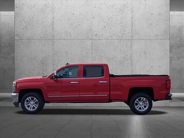 2018 Chevrolet Silverado 1500 Crew Cab 4x4, Pickup #JG236036 - photo 2