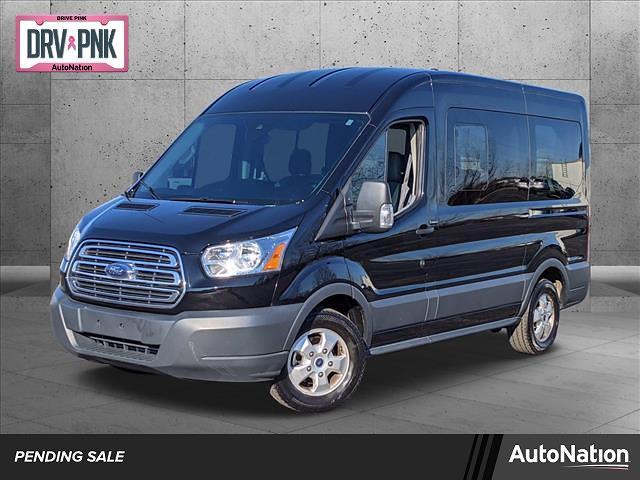 2018 Ford Transit 150 Med Roof 4x2, Passenger Wagon #JKB13254 - photo 1