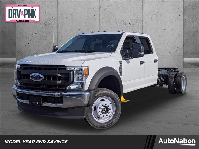 2020 Ford F-550 Crew Cab DRW 4x4, Cab Chassis #LEE09680 - photo 1