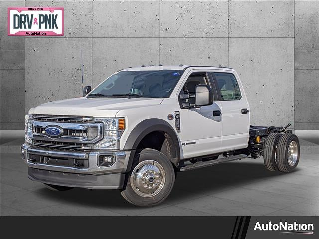 2021 Ford F-450 Crew Cab DRW 4x4, Cab Chassis #MEC12476 - photo 1
