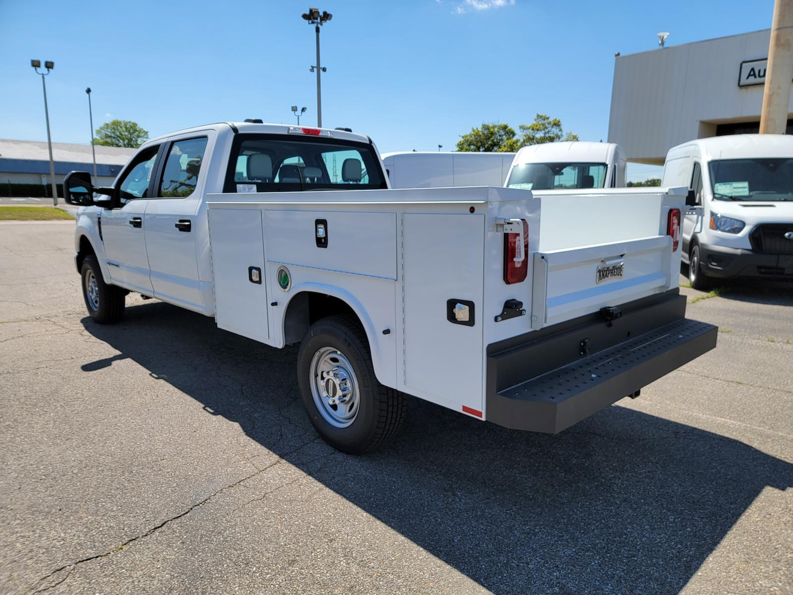 2021 Ford F-250 Crew Cab 4x4, Knapheide 8' Service Body with flip top boxes #MED61119 - photo 1