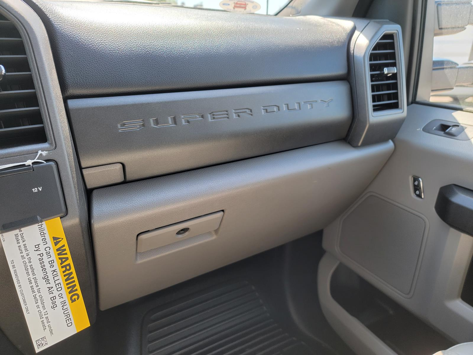 2021 Ford F-250 Crew Cab 4x4, Knapheide 8' Service Body with flip top boxes #MED61119 - photo 6