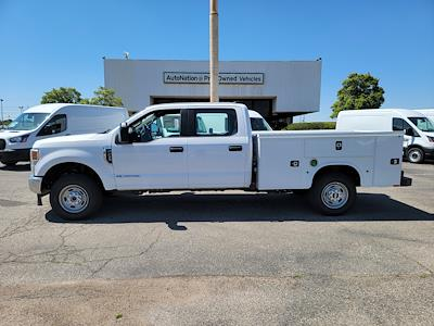 2021 Ford F-250 Crew Cab 4x4, Knapheide 8' Service Body with flip top boxes #MED61119 - photo 11